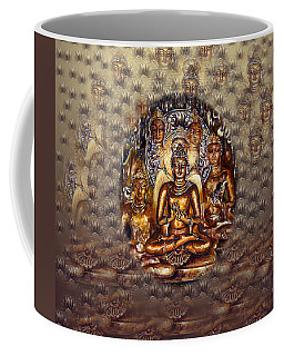 Gold Buddha Coffee Mug