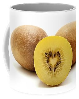 Gold Kiwifruit Coffee Mug by Fabrizio Troiani