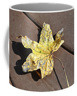 Gold Leaf Coffee Mug