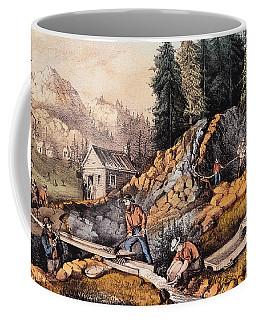 Gold Mining In California Coffee Mug