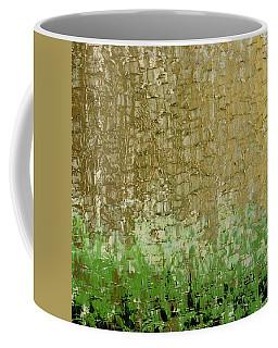 Gold Sky Green Grass Coffee Mug