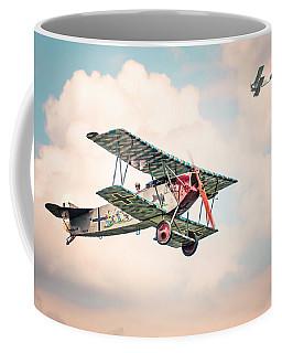 Golden Age Of Aviation - Replica Fokker D Vll - World War I Coffee Mug