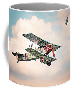 Golden Age Of Aviation - Replica Fokker D Vll - World War I Coffee Mug