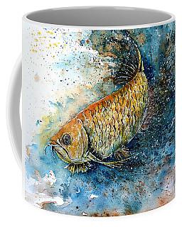 Golden Arowana Coffee Mug