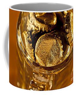 Coffee Mug featuring the photograph Golden Beer  Mug  by Wilma  Birdwell