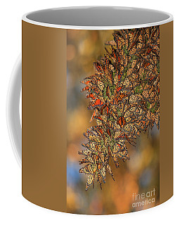 Coffee Mug featuring the photograph Golden Cluster by Beth Sargent