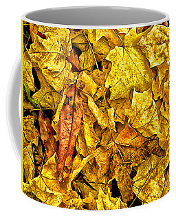 Golden Colors Of Fall Coffee Mug