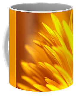Golden Dahlia Coffee Mug by Michael Cinnamond