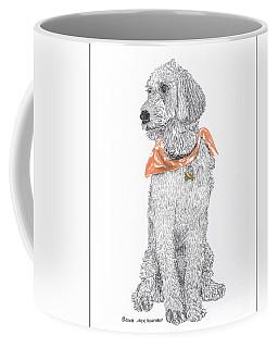 Trash Talking Golden Doodle Coffee Mug by Jack Pumphrey