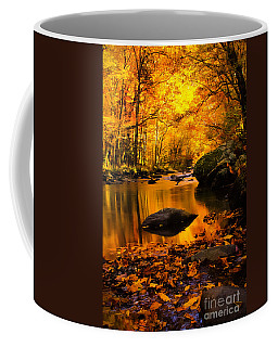 Coffee Mug featuring the photograph Golden Dream by Geraldine DeBoer