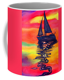 Golden Dreams Coffee Mug by Lil Taylor