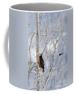 Golden Eagle And The Magpie Coffee Mug