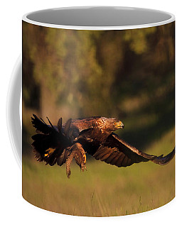 Golden Eagle On The Hunt Coffee Mug