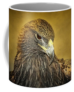 Golden Eagle Portrait Coffee Mug