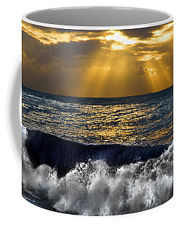 Golden Eye Of The Morning Coffee Mug by Miroslava Jurcik