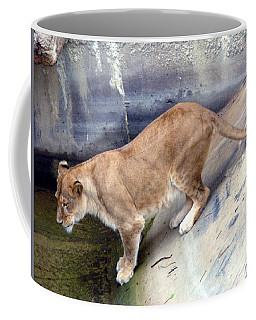 Golden Fur Lioness Coffee Mug