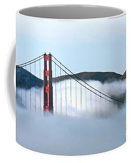 Golden Gate Bridge Clouds Coffee Mug