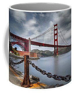 Golden Gate Bridge Coffee Mug by Eduard Moldoveanu