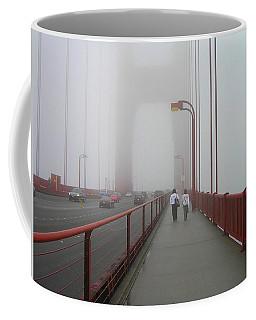 G. G. Bridge Walking Coffee Mug