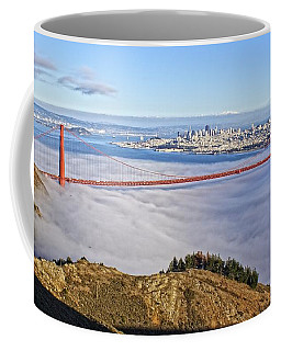 Coffee Mug featuring the photograph Golden Gate by Dave Files