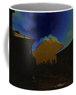 Coffee Mug featuring the photograph Golden Gate Peak El Dorado Old Tucson Arizona 1967-2009 by David Lee Guss