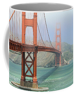 Coffee Mug featuring the photograph Golden Gate by Steven Bateson