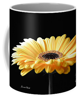 Golden Gerbera Daisy No 2 Coffee Mug