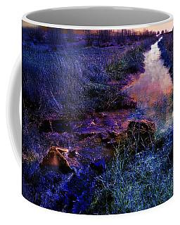 Coffee Mug featuring the photograph Golden Hour by Gunter Nezhoda