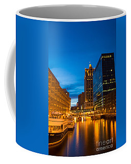 Golden Hour Milwaukee River Coffee Mug