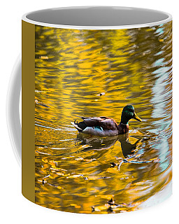 Golden   Leif Sohlman Coffee Mug