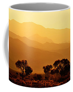 Golden Mountain Light Coffee Mug by David Lawson