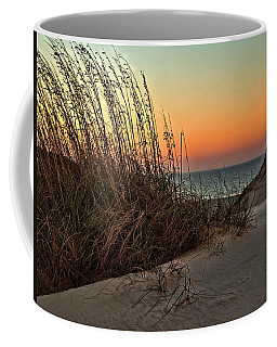 Coffee Mug featuring the photograph Golden Oats by Laura Ragland