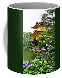 Golden Pavilion - Kyoto Coffee Mug by Juergen Weiss