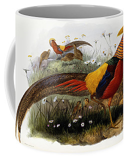 Golden Pheasants Coffee Mug