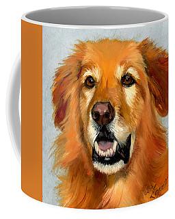 Golden Retriever Dog Coffee Mug