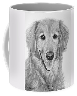 Golden Retriever Sketch Coffee Mug