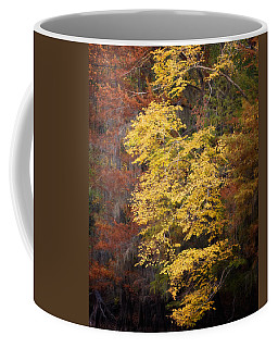 Coffee Mug featuring the photograph Golden Rust by Lana Trussell