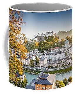 Golden Salzburg Coffee Mug by JR Photography