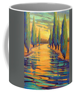 Golden Silence 3 Coffee Mug