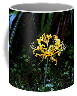 Golden Spider Lily Coffee Mug