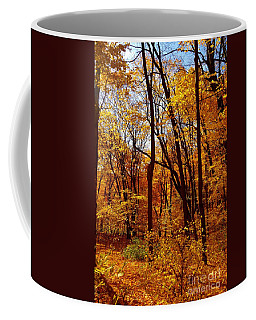 Golden Splendor Coffee Mug