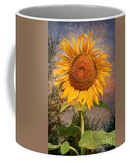 Golden Sunflower Coffee Mug