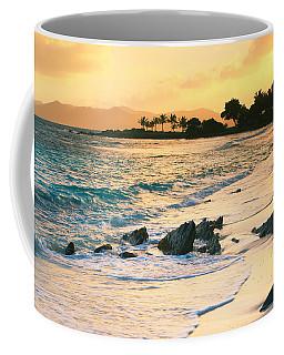 Golden Sunrise On Sapphire Beach Coffee Mug