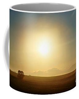 Coffee Mug featuring the photograph Golden Sunset by Judy Palkimas