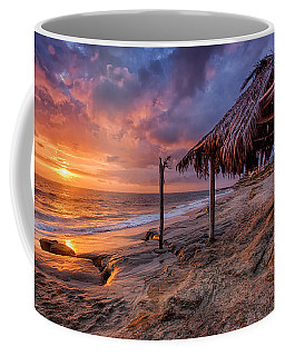Golden Sunset The Surf Shack Coffee Mug