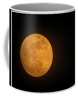 Golden Super Moon Coffee Mug by Kathy Barney
