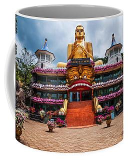 Golden Temple In Dambulla 1. Sri Lanka Coffee Mug