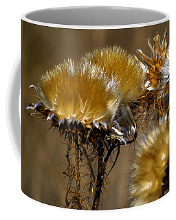 Golden Thistle Coffee Mug