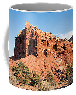 Golden Throne Capitol Reef National Park Coffee Mug
