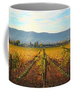 Golden Vineyards Coffee Mug by Lynn Hopwood